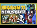 SEASON 11 NEXUS BLITZ IS HERE! NEW ITEMS, MINIGAMES, & MORE! - League of Legends