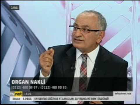 Prof. Dr. Hasan Taşçı - Organ Nakli - TVNET - Poliklinik