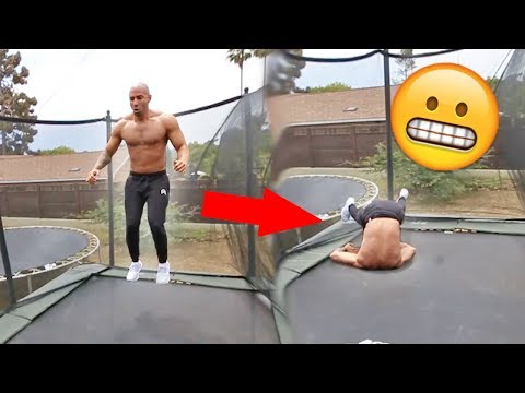 Thumbnail: TEACHING FOUSEYTUBE HOW TO FRONTFLIP!