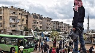 #حي_الوعر .. أكبر عملية تهجير في #سوريا