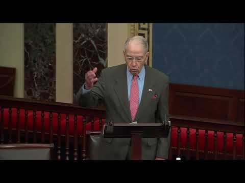 Grassley on Biden's Bloated Budget and the Growing National Debt