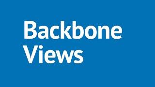 Backbone.js Tutorial Part 12 - Backbone.js Views: Handling the Model Events