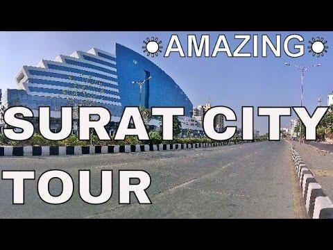 Surat City Tour ☀ Best Views ☀ In My Car ☀
