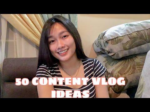 50 CONTENT VLOG IDEAS | DAISY DAVID