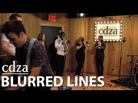 Blurred Lines (an improvisational take)