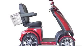 EWheels EW-72 Four Wheel Heavy Duty Scooter with Electromagnetic Brakes