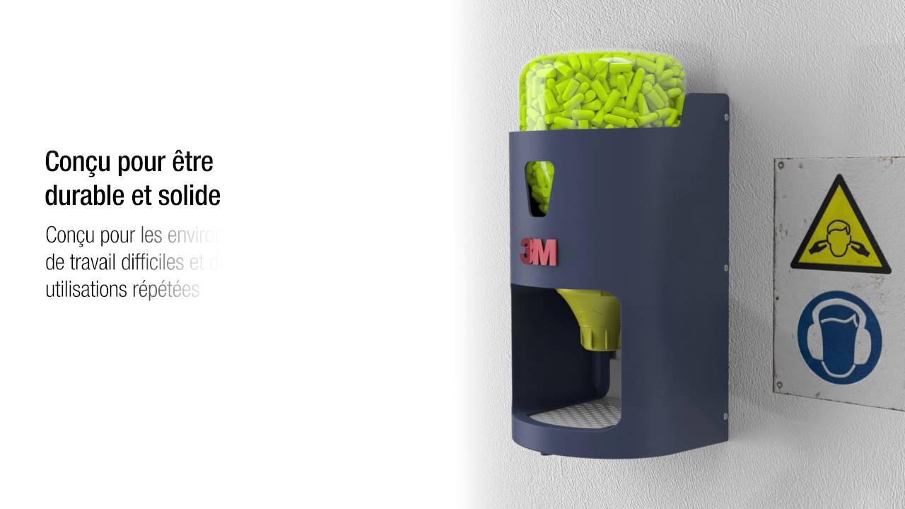 plutôt cool conception de la variété vente énorme Distributeur de bouchons d'oreille 3M™ One Touch™ Pro