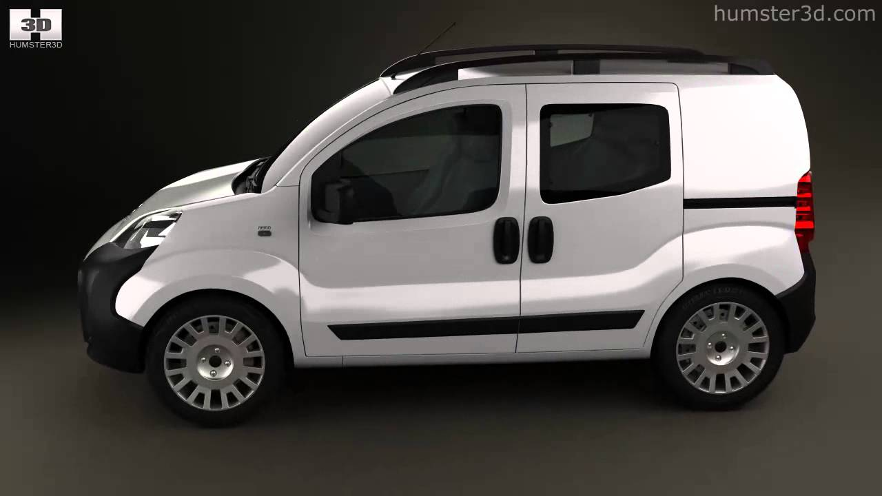 citroen nemo combi 2011 by 3d model store youtube. Black Bedroom Furniture Sets. Home Design Ideas
