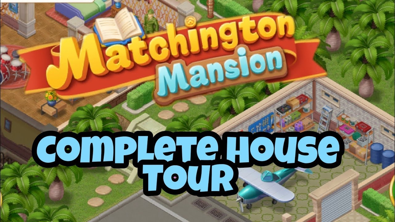 MATCHINGTON MANSION - Gameplay Walkthrough Part 23 iOS / Android - Complete  House Tour - YouTube