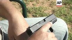 Gun expert at shooting range on possibility of Glock gun going off accidentally