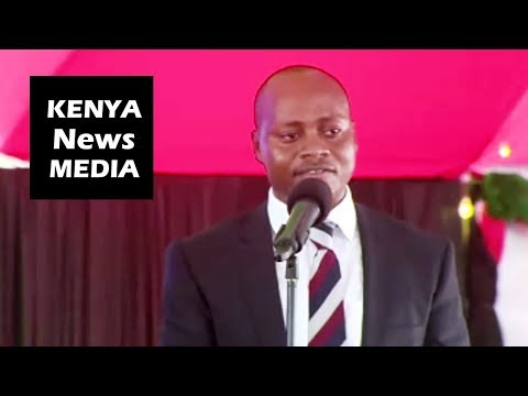 CEC Health Mulwa REMARKS during Makueni Hospital during OPENING!!!