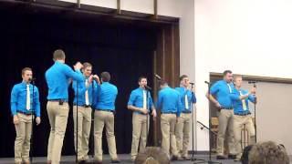 BYU Vocal Point Frankie Valley medley 9-28-13