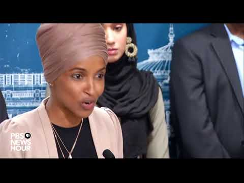 WATCH LIVE: Reps. Omar and Tlaib address Israel's decision to restrict their travel