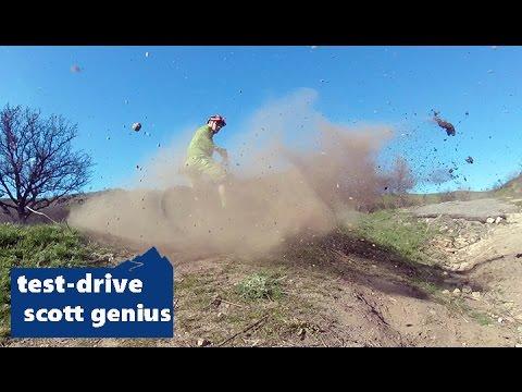 Scott Genius 710 Carbon 2014 (test-drive)