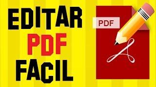 Como EDITAR UN PDF GRATIS de la manera mas FÁCIL posible 2019 | MODIFICAR UN PDF