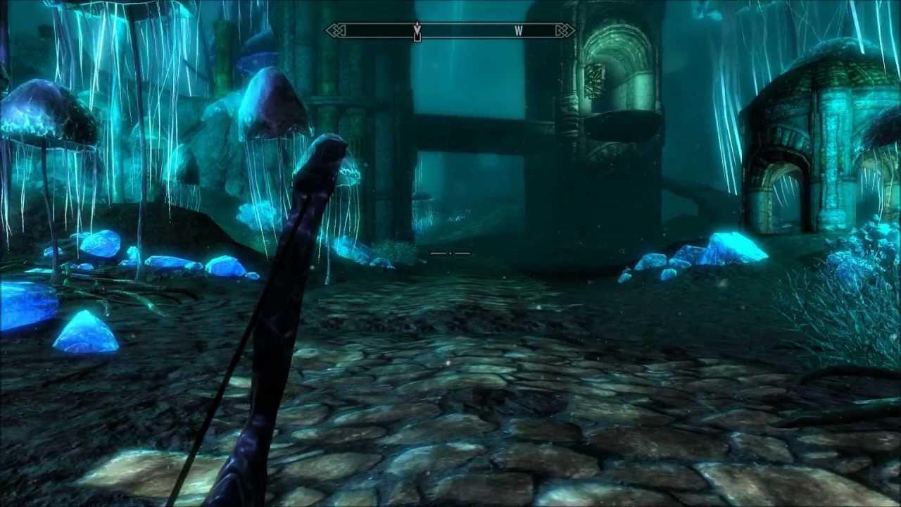 Let S Play Skyrim Blind Part 219 Blackreach Falmer Slave