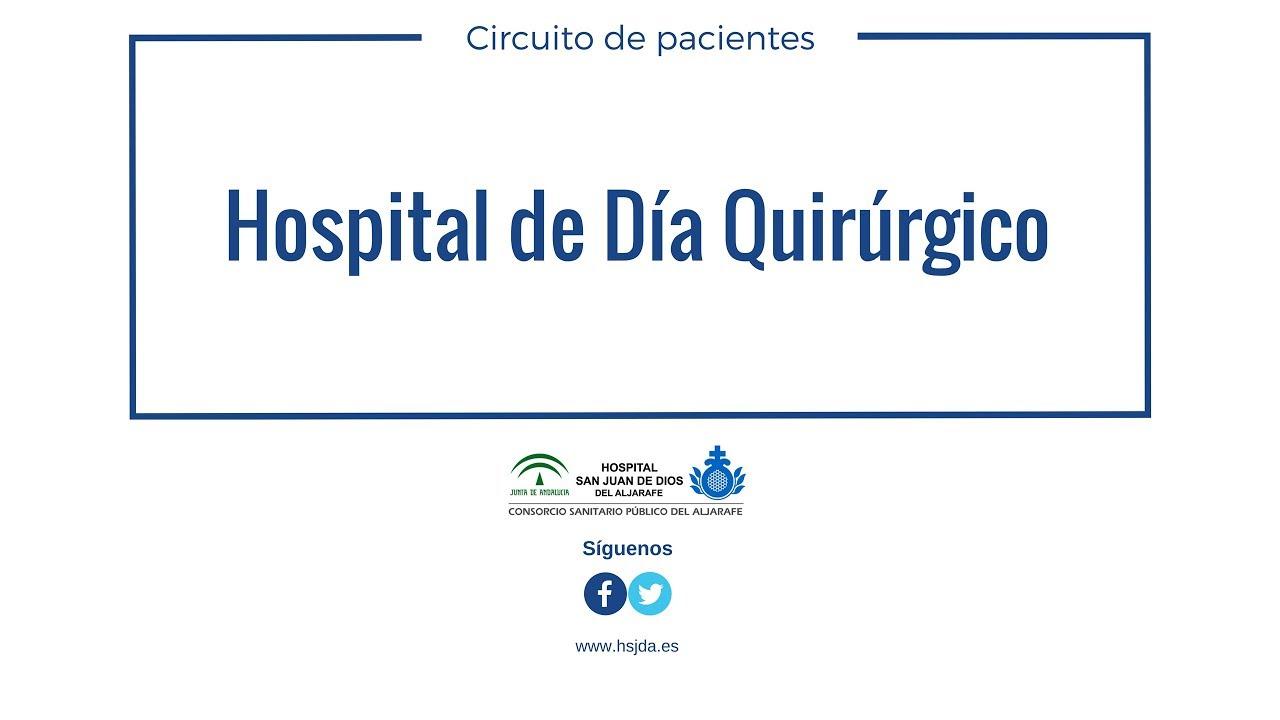 Circuito Quirurgico : Hospital de día quirúrgico hospital san juan de dios del aljarafe