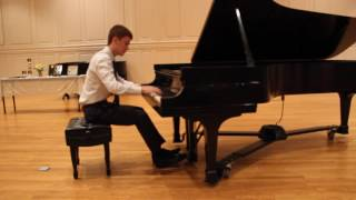 2016 Nick West Spring Recital, Chopin Fantasie Impromptu