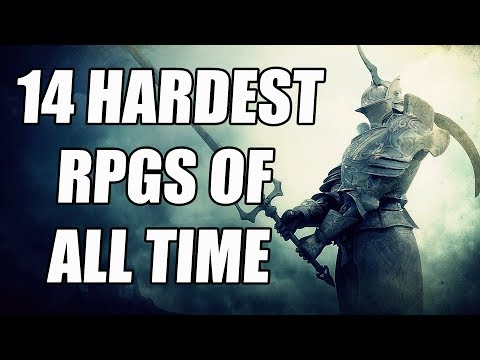 14 HARDEST RPGs of All Time That Will Destroy You