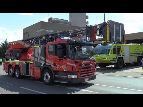 [Panther-FLF + DLA(K)] US Army Fire Department Stuttgart (USAG/SAAF) Mit Wail/Yelp Und Hornspiel
