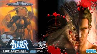 altered beast 獣王記 Jūōki MD 1988 - rise from your grave [megadriver] VGM