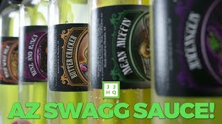 It's AZ Swagg Sauce Day! Bunz and Roses   Juicenstein   Maui Waui Milk   Mean Muffin Review