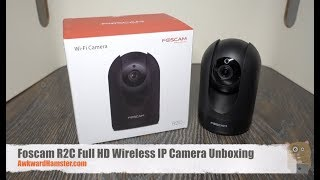 Foscam R2C Full HD Wireless IP Camera Unboxing