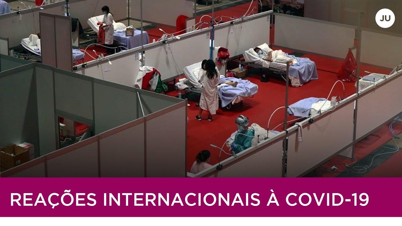 JORNAL DA UFU   REAÇÕES INTERNACIONAIS À COVID-19 (06/04/2020)
