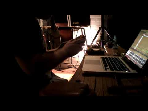 Alex Charles, live at the Ort Café, Birmingham, 10 12 2011