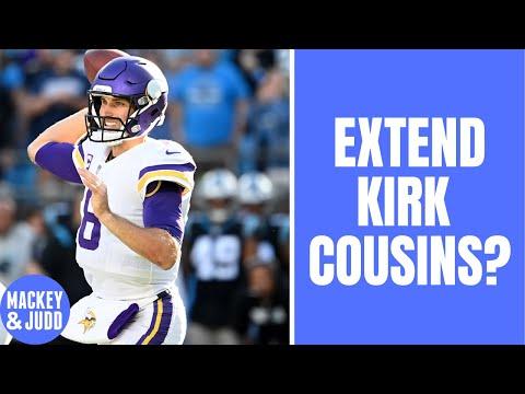 Should Minnesota Vikings extend Kirk Cousins contract?