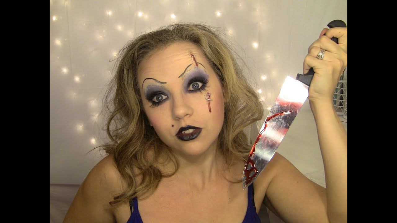 how to make chucky scars