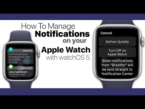 Snapchat alerts on apple watch