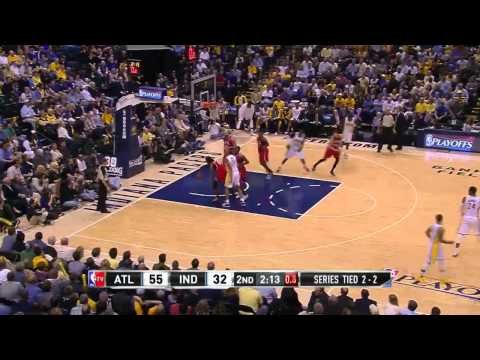 Atlanta Hawks vs Indiana Pacers Game 5 | April 28, 2014 | NBA Playoffs 2014