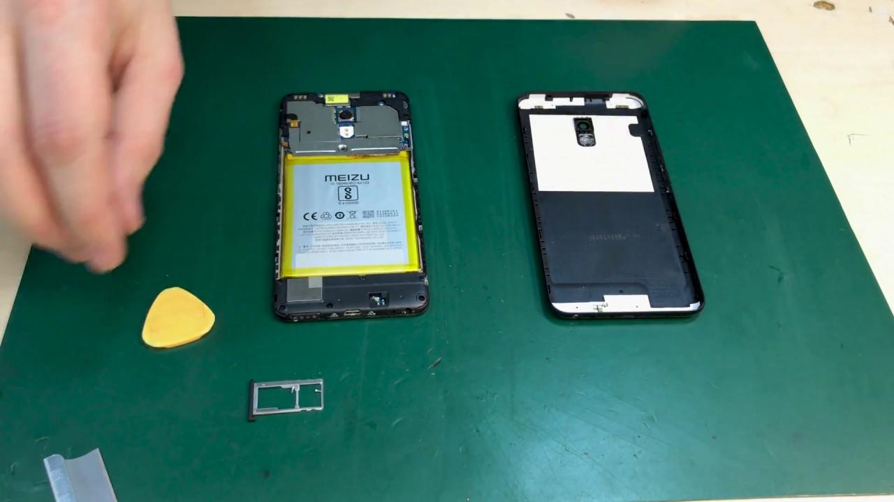 <b>Meizu</b> M5 - разборка, замена <b>дисплея</b> / disassembly, replacement ...