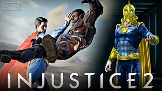 """Injustice 2 Mobile: OP Superman, Going """"Online"""", & Dr. Fate Gear!!"""