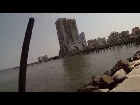 Fishing for Summer Flounder and Sea Bass at the Absecon Inlet (Atlantic City, NJ)