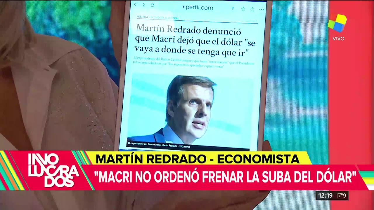 Martín Redrado denunció que Macri dio la orden de no frenar