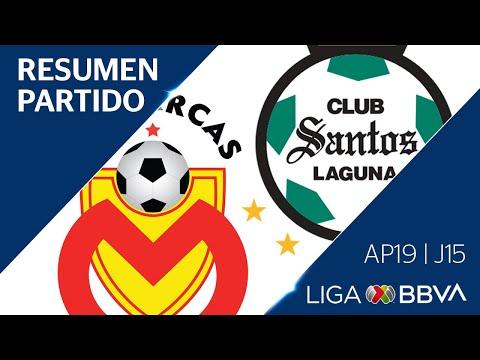 Resumen Y Goles | Morelia Vs Santos Laguna | Jornada 15 - Apertura 2019 | Liga BBVA MX