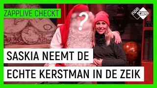 SASKIA ONTMOET DE KERSTMAN IN LAPLAND #2 | Zapplive Checkt