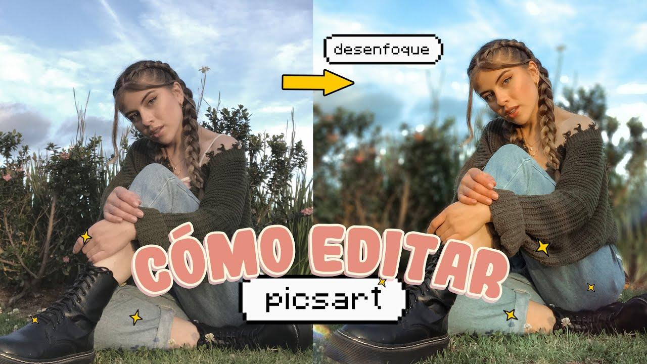 PicsArt ⚡ CÓMO EDITO mis FOTOS de Instagram| Camila Dust