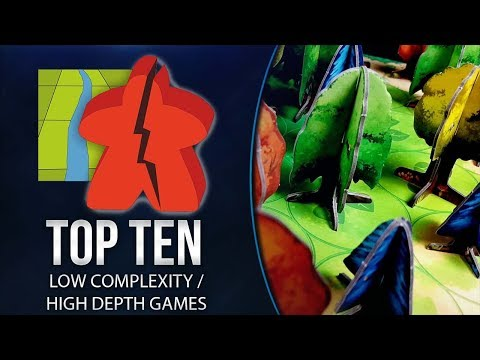Top 10 Games With Low Complexity And High Depth