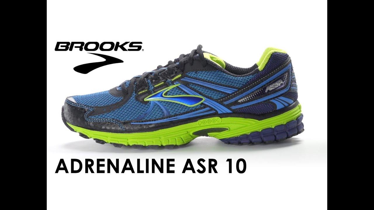 Brooks Adrenaline ASR 10 for men - YouTube