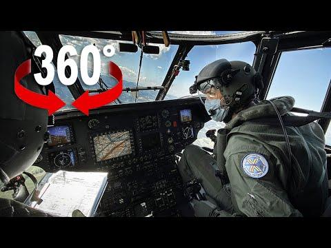 Im Cockpit mit