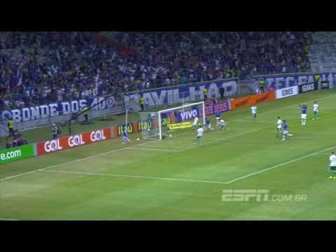 Gols de Cruzeiro 2x1 Palmeiras - Série A 2016