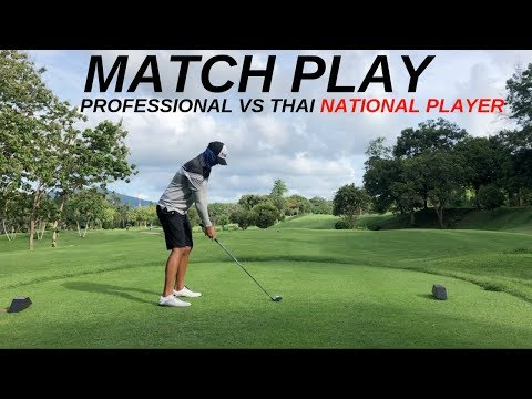 GOLF COURSE VLOG 2019 - PROFESSIONAL GOLFER VS ELITE JUNIOR GOLFER (PART 1/2)