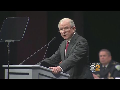 Sessions Reiterates Commitment To Defeating MS-13 As Fear Spreads On Long Island