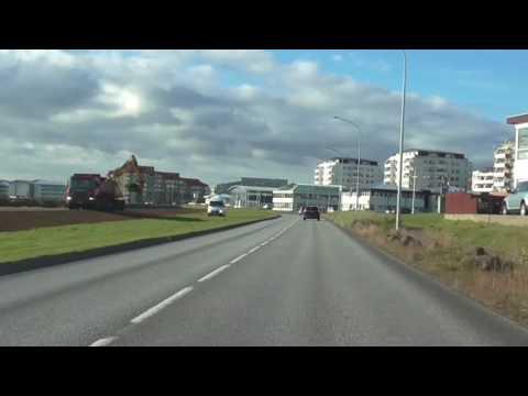Reykjavik Half Marathon Iceland Course Video