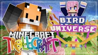 One of SeaPeeKay's most viewed videos: Lizzie's Bird Universe Theme Park! - TrollCraft - EP 34