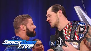 Bobby Roode challenges Baron Corbin to a United States Title Match: SmackDown LIVE, Nov. 28, 2017