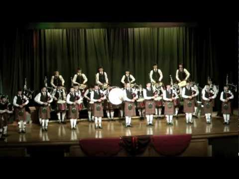 GWC Pipes and Drums Ceilidh 2012 1080p